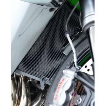 Protection de radiateur R&G RACING noir Kawasaki H2