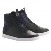 Chaussures Alpinestars Jam Drystar jaune fluo et noir