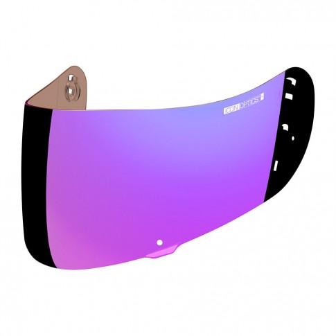 Visières Icon Optics irridium violet